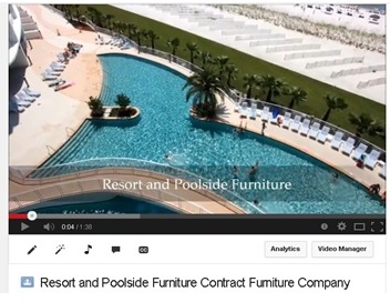 Resort and Poolside Furniture - Contract Furniture Company